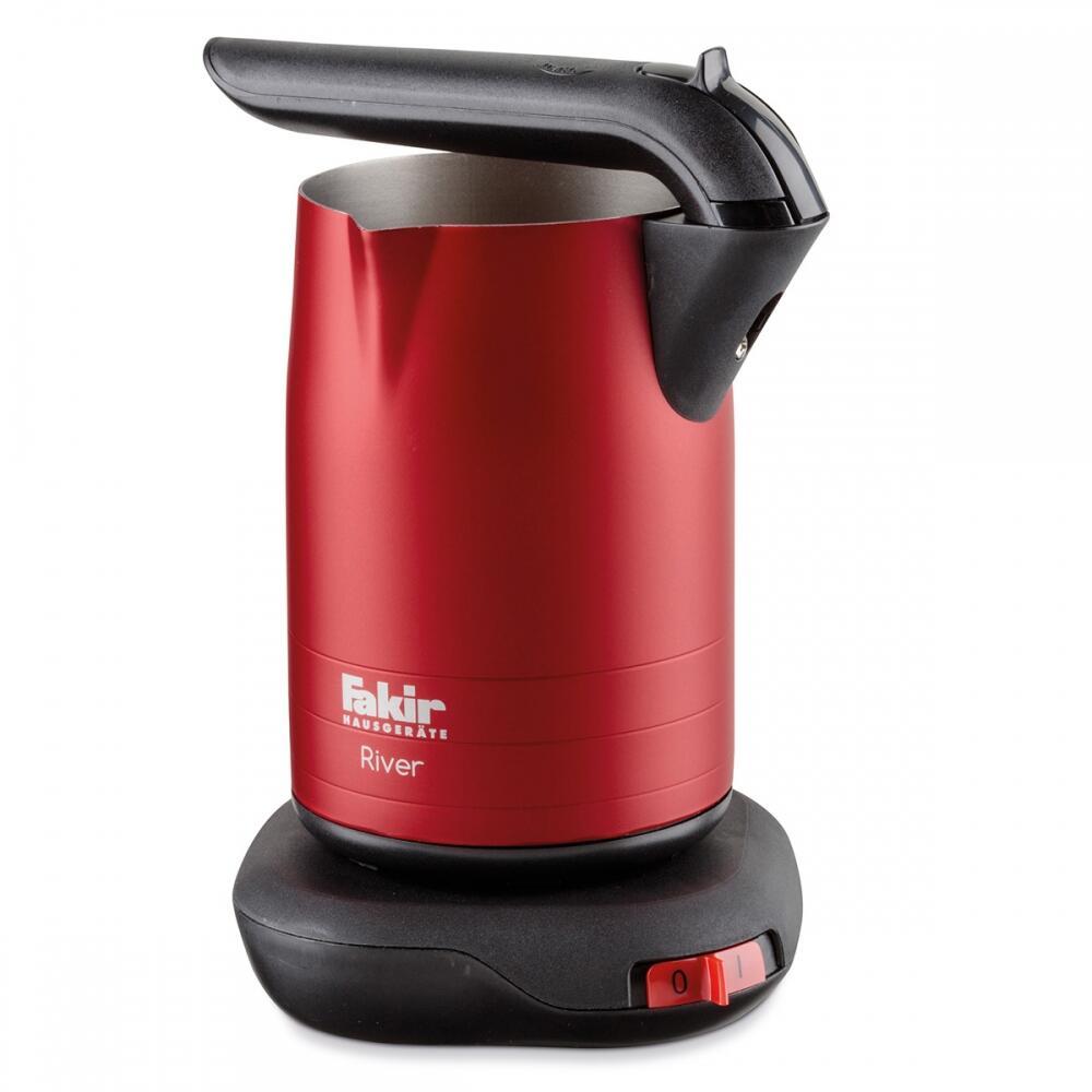 River Katlanabilir Türk Kahve Makinesi Kırmızı