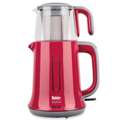 - Teatime Çay Makinesi Kırmızı Gri