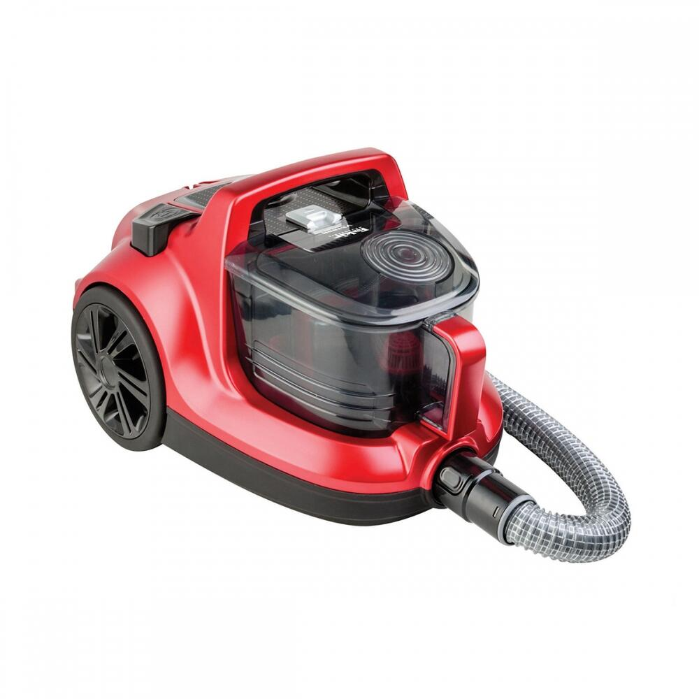 Veyron Turbo Öko Toz Torbasız Kuru Vakum Süpürgesi Kırmızı
