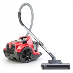 - Veyron Turbo Öko Toz Torbasız Kuru Vakum Süpürgesi Kırmızı