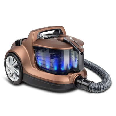 Veyron Turbo XL Premium Toz Torbasız Kuru Vakum Süpürgesi Kahverengi - Thumbnail