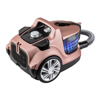 Veyron Turbo XL Premium Toz Torbasız Kuru Vakum Süpürgesi Mat Rose - Thumbnail