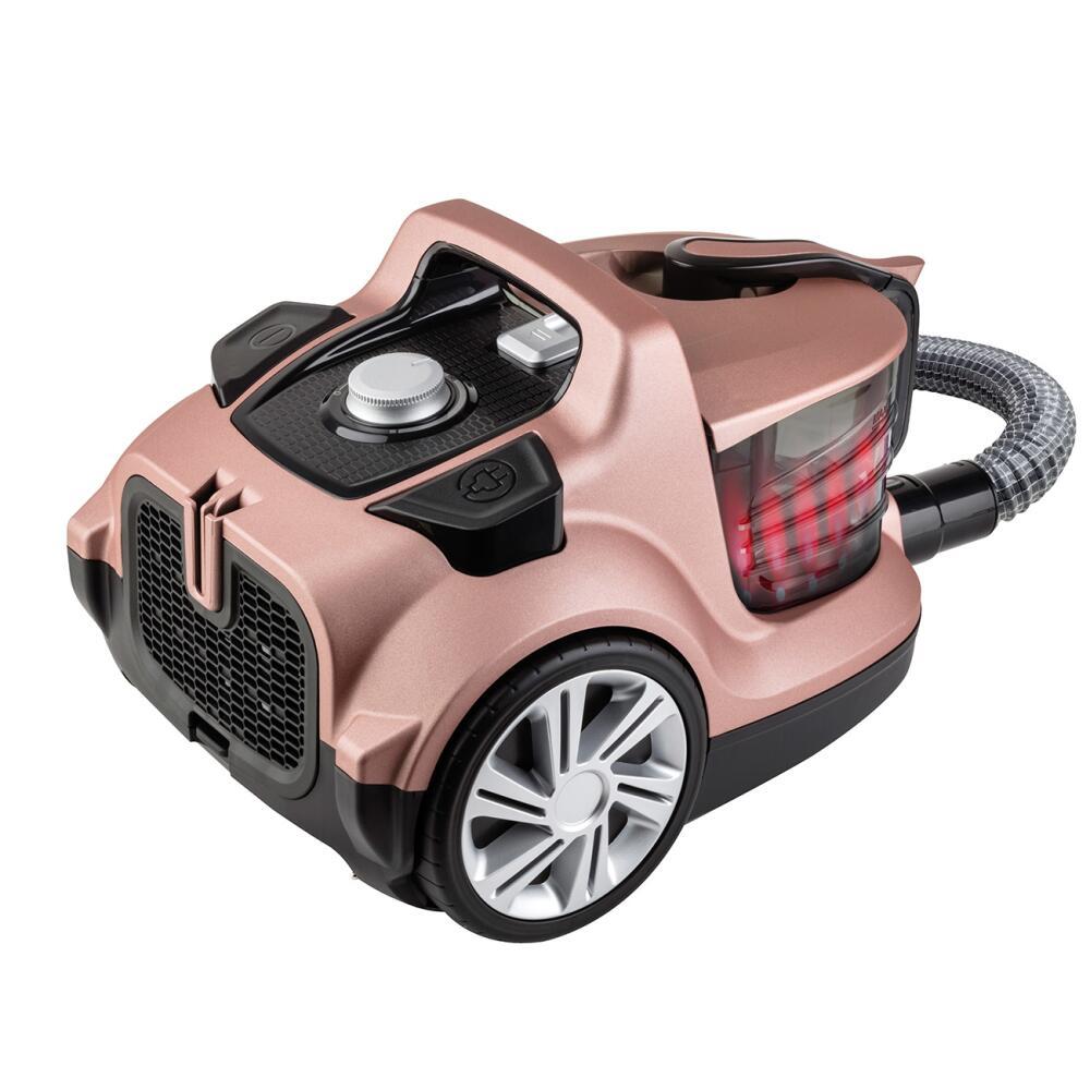 Veyron Turbo XL Premium Toz Torbasız Kuru Vakum Süpürgesi Mat Rose