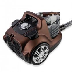 Veyron Turbo XL Toz Torbasız Süpürge Kahverengi - Thumbnail